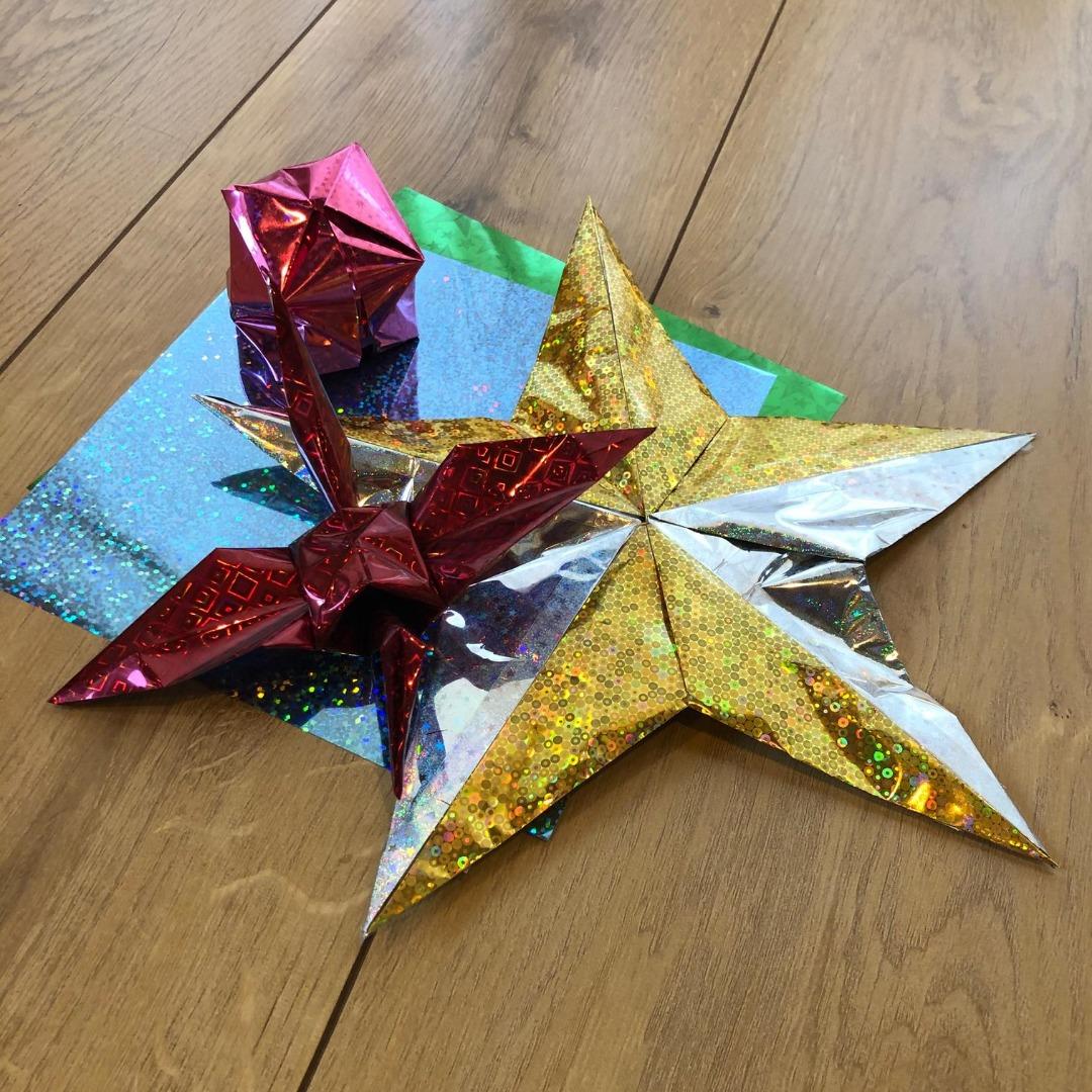 ホログラム折り紙