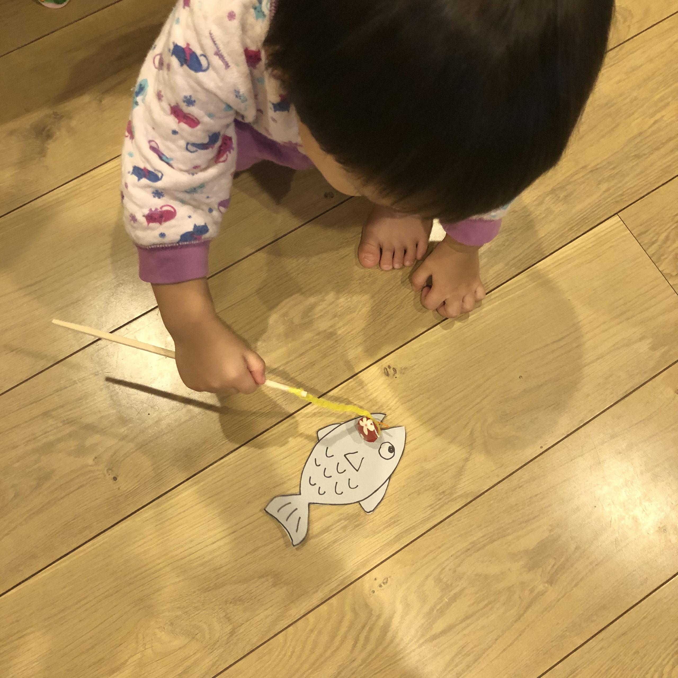 簡単釣りゲーム制作1歳